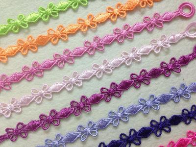 中国结蕾丝编织手链手环 明星同款蕾丝编织手带 新款上架