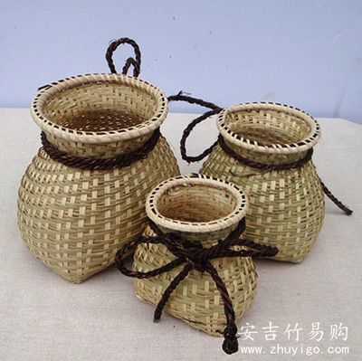 竹编工艺品图片