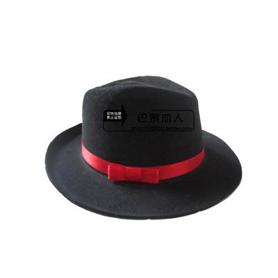 中式新郎结婚礼帽 传统男士唐装古装帽子婚庆影视cosplay道具用品
