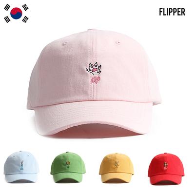 正品潮牌flipper可爱甜美水果夏季棒球帽男女鸭舌帽