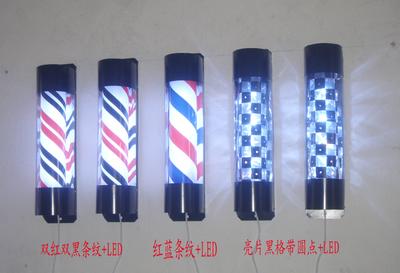 厂家直销美发转灯,发廊灯,美发用品,美发转灯led,理发店灯箱图片
