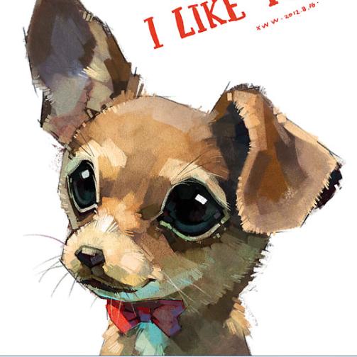 小动物 可爱萌图 水彩彩铅 手绘手稿 临摹素材 电子图片 53张