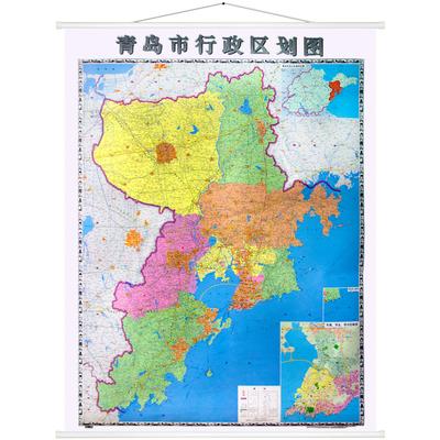 青岛市地图图片