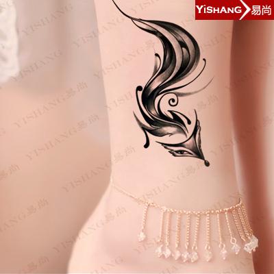 纹身手稿小图狐仙分享展示
