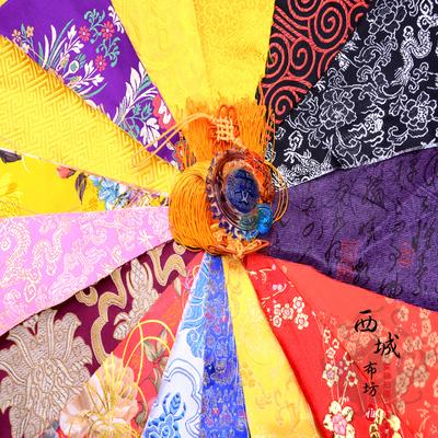 织锦缎 碎布 diy手工布头 锦囊布 练手布 花色多