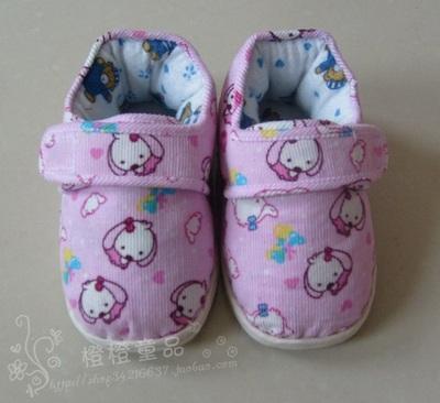 宝宝手工棉鞋图片