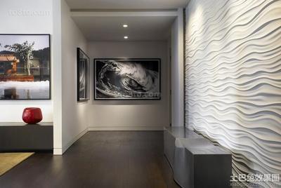 石膏水波纹板 石膏装饰板 电视墙装饰板 石膏线 石膏文化砖石膏板