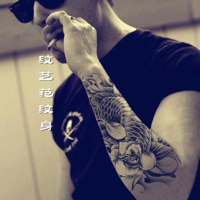 纹身贴纸怎么做的分享展示