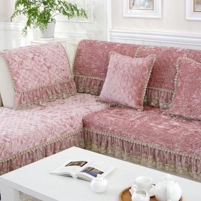 加厚短毛绒沙发垫时尚布艺坐垫防滑欧式金钻绒沙发套