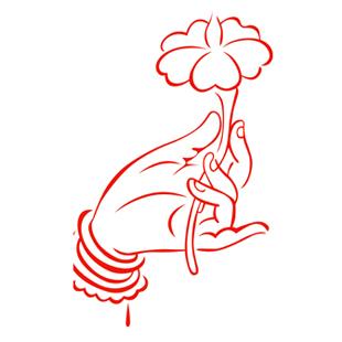 佛手/喜庆窗花节日春节剪纸福字中国结贴纸生肖招财神有鱼花鸟