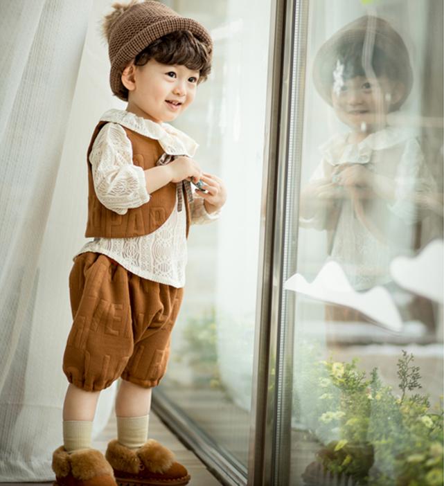 2016儿童摄影服装 新款影楼2岁时尚韩版小男孩拍照