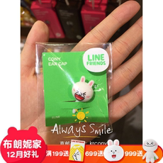 Заглушка Line friends Iphone