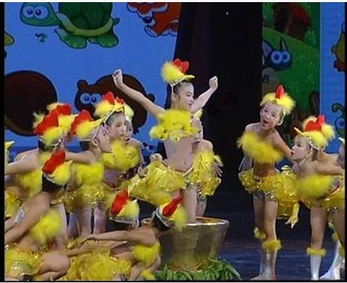 疯狂演出服舞蹈跳舞服动物