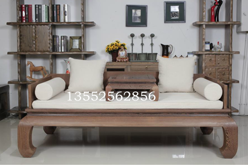 新中式古典定制定做罗汉床垫子古典中式皇宫坐垫红木沙发垫子靠枕
