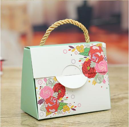 吉海小手提盒创意个性婚庆婚礼结婚用品2015糖果喜糖