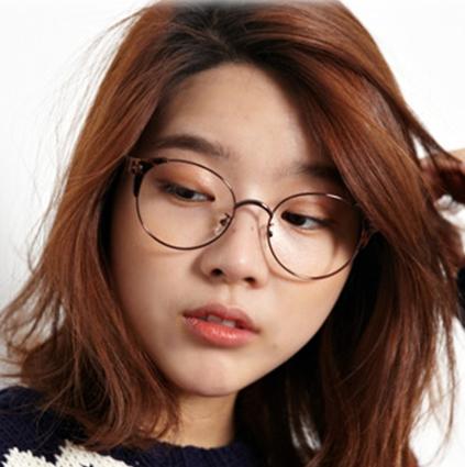 韩国代购韩版海外正品新款美女必备小脸豹纹精致细框