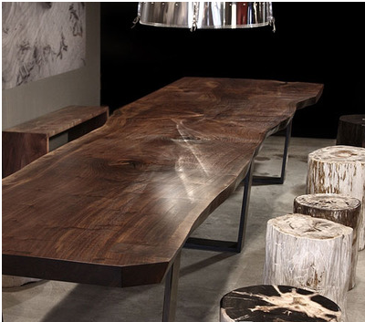 现代简约自然禅意新中式原木家具灯具艺术品软装设计