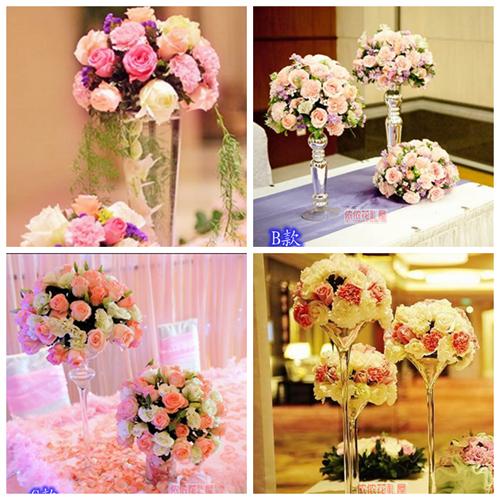 会议庆典婚礼签到台酒店餐桌欧式小台花