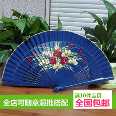 Веер Wood fan Fang