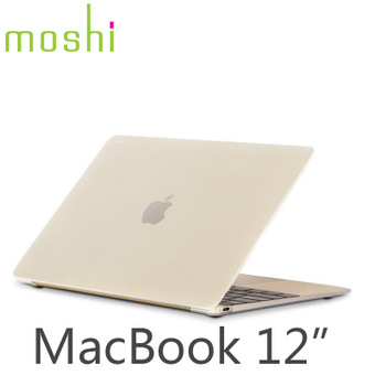 moshi摩仕iGlaze苹果电脑12寸保护壳MacBook保护套超薄透明外壳薄