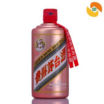 53度茅台飞天(玫瑰金)500ml酱香型白酒礼盒装送礼