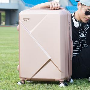 韩款行李箱小清新24寸拉杆箱万向轮女可爱密码箱子旅行箱20登机箱