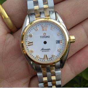 手表配件 瑞士23909梅花女表壳 精钢壳 ETA2671机芯 2775配件表壳