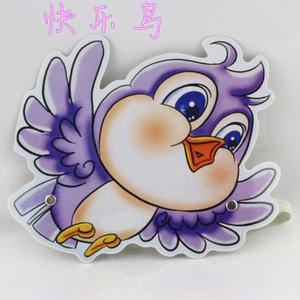 角色扮演头饰_幼儿园教学用品儿童舞台表演道具游戏角色扮演动物头饰小鸟面具