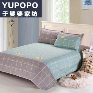 純棉老粗布床單單件雙人1.5/1.8/2米全棉單人加厚被單學生1.2m床