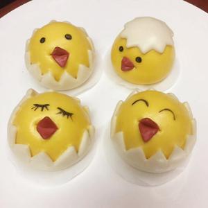 做辅食馒头面食儿童花式卡通点心果蔬小鸡包子鸡蛋壳装饰模具配件