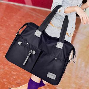 2019新款夏款潮流日韩版女包单肩包手提斜挎大包包尼龙帆布旅行包