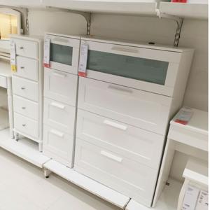 【IKEA/宜家专业国内代购】 百灵 4屉柜  四斗抽屉柜 收纳储物柜