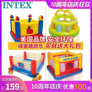 兒童家用蹦床充氣小型室內寶寶城堡淘氣堡母嬰蹦床設備廠家跳跳床