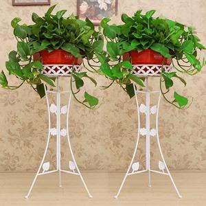 现代欧式加粗铁艺花架多层客厅落地式阳台组装绿萝花架