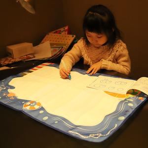 趣威文化 清水魔法画布毯大号神奇水画布儿童清水涂鸦宝宝水写布
