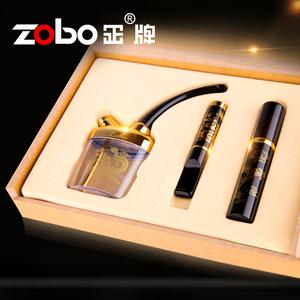ZOBO正牌烟嘴过滤器循环型可清洗多重磁石香菸烟具水烟筒壶斗套装