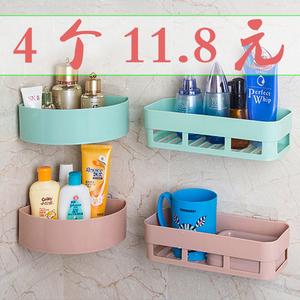 衛生間置物架洗漱用品儲物架浴室洗手間架子廁所塑料收納架