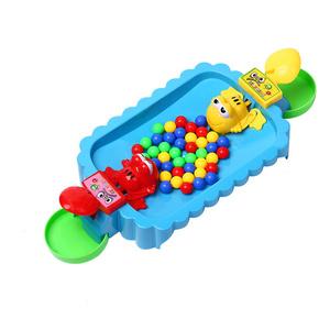 青蛙吃豆雙人益智趣味親子桌面游戲互動貪吃青蛙搶珠親子兒童玩具