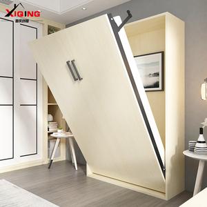 多功能小戶型隱形床衣櫃一體折疊沙發壁床牆床隱藏式床家用翻床