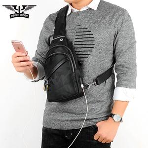 新款胸包男士包包单肩斜挎包男韩版潮学生迷彩帆布休闲胸前背男包