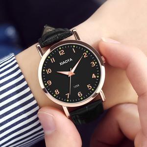 手表男表韩版简约时尚潮流防水学生全自动非机械表运动石英男士表