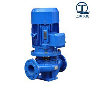 上海天泉泵业水泵TQL单级单吸立式管道离心泵/增压泵/循环泵/空调