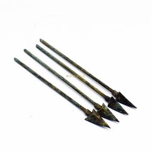 仿古青铜器古代兵器小矛头箭头古玩收藏青铜剑戈头影视道具艺术品