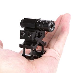 新款迷你低基小红外线红激光瞄准器上下左右调节抗震红绿点瞄准仪