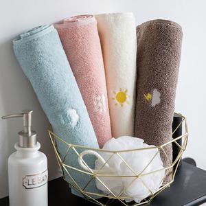 情侶毛巾一對純棉全棉洗臉家用柔軟吸水不掉毛男女擦頭發速干成人