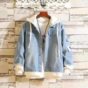 秋季12牛仔外套13青少年韩版14岁男孩子15初中学生潮流16帅气夹克