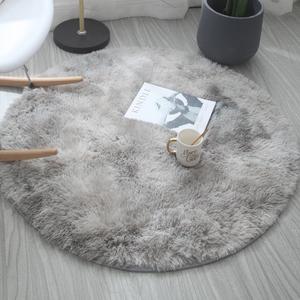 圓形地毯吊籃瑜伽墊電腦椅地墊房間臥室地毯床邊毯客廳地毯茶幾毯