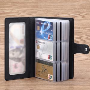 卡包男真牛皮大容量長款卡夾女卡皮套多卡位放卡的卡片包證件一體