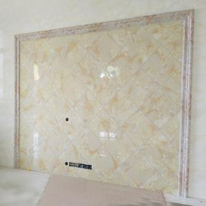 仿大理石電視背景牆邊框裝飾條瓷磚腰線石塑門套包邊人造石材線條