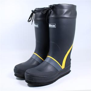 樂迪垂釣毛氈底磯釣鞋 男款防滑防水登礁海釣靴子 釣魚鞋帶釘水鞋